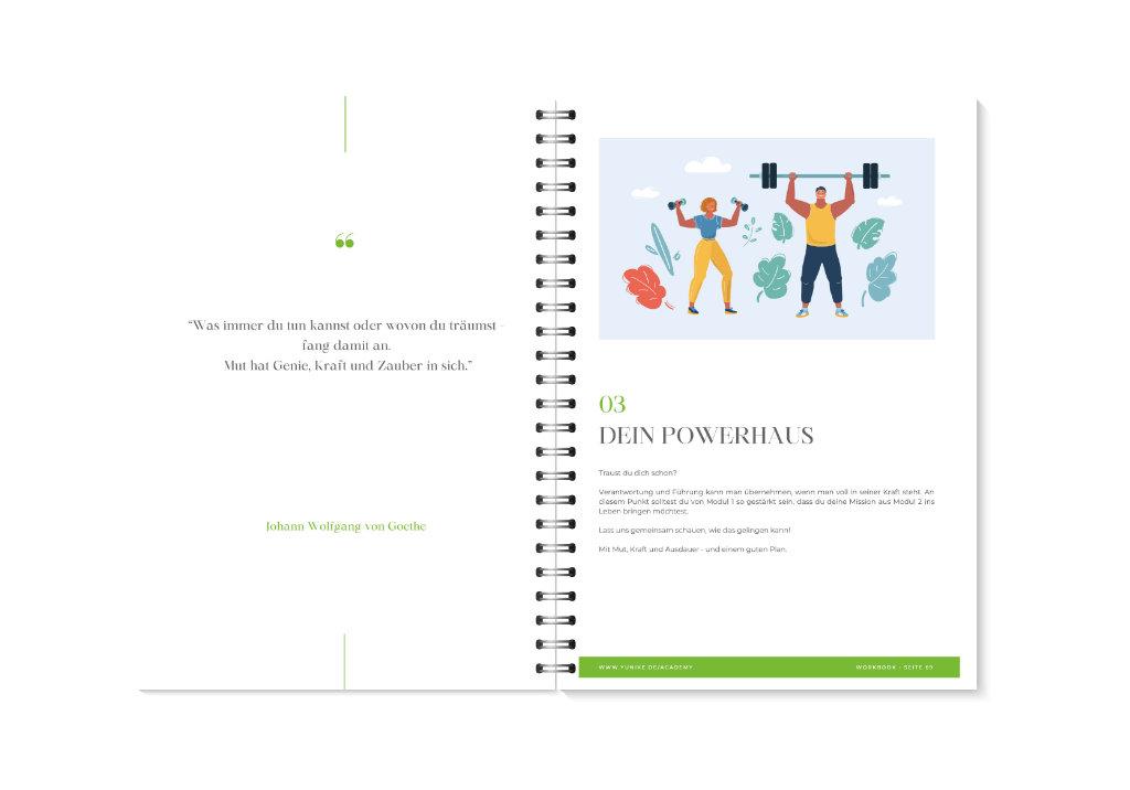 YUNIKE Academy Workbook Vorschau 10-11