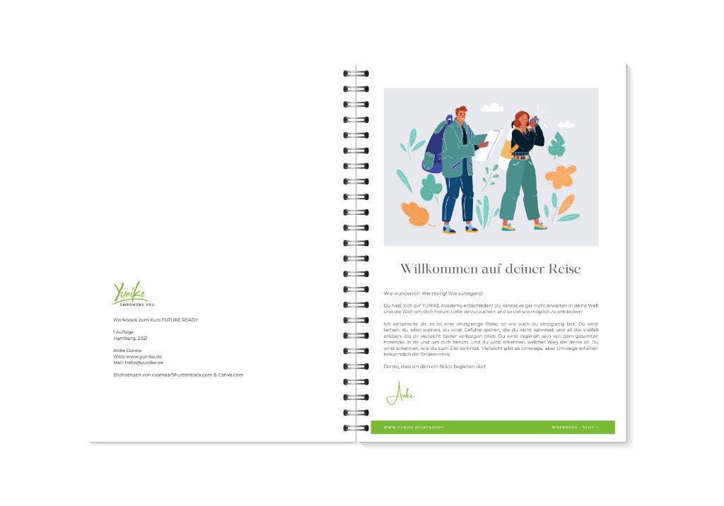 YUNIKE Academy Workbook Vorschau 2-3